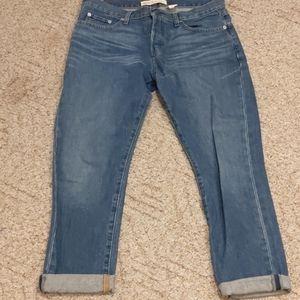 Gap relaxed boyfriend button fly jeans